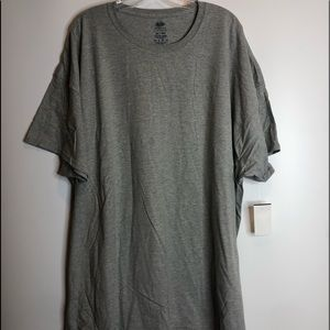 NWT Fruit of the Loom Oversized Tee 4X PLUS SIZE